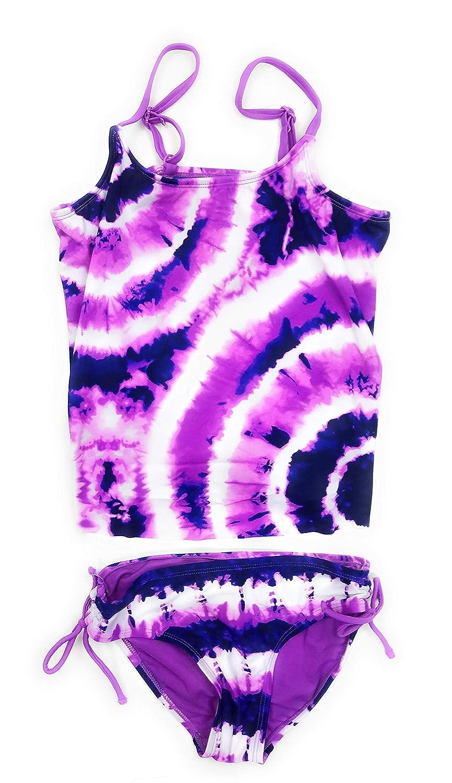 abe49dc921 Amazon.com: Justice Big Girls' Swimsuits Tankini Bathing Suits Mult Sizes  Colors: Clothing