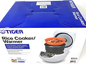 Tiger 5.5-Cup Micom Rice Cooker & Warmer & Steamer