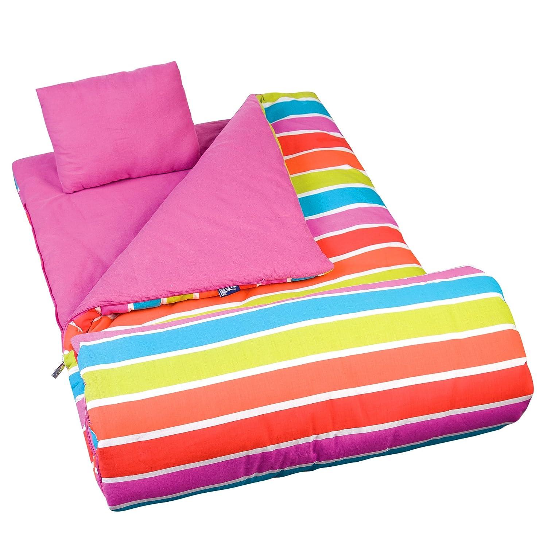 Amazon Wildkin Bright Stripes Original Sleeping Bag Toys Games