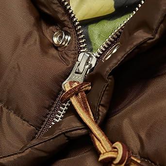 Monitaly Aviator Bomber Jacket - Brown-44: Amazon co uk