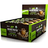 MusclePharm Organic Protein Bar, Certified USDA Organic, 15g Plant Based Protein, No Artificial Ingredients, Gluten Free, Non GMO, Peanut Butter, 12 bars