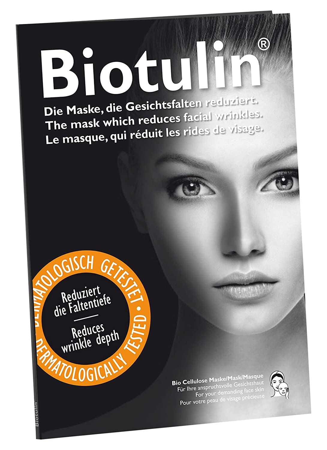 9fa7ff6dffc597 Biotulin Bio Cellulose Maske  Amazon.de  Premium Beauty
