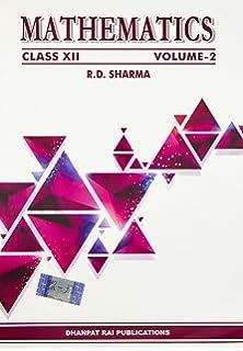 Mathematics class xii set of 2 volumes rd sharma mathematics vol i ii class 12 fandeluxe Choice Image