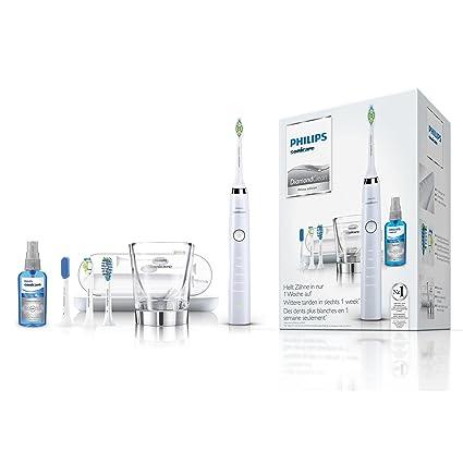 Philips Sonicare cepillo de dientes eléctrico DiamondClean HX9398/20 - Cepillo de dientes eléctrico con