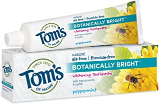 product image for Tom's Of Maine Botanically Bright Whitening Toothpaste Peppermint