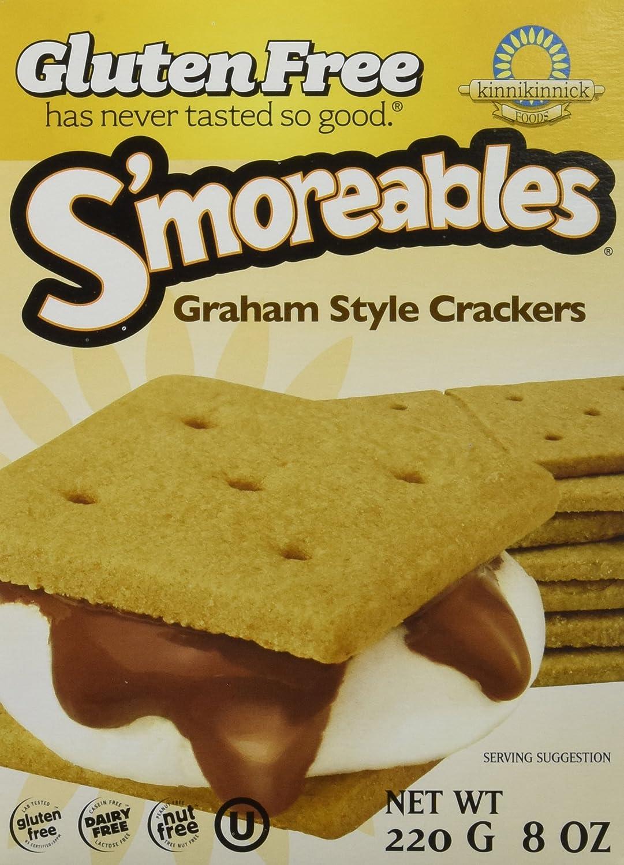 Amazon.com: Kkinnikinnick SMoreable galletas estilo Graham ...