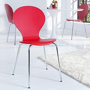 Jacobsen Stuhl cagü retro design klassiker stuhl stapelstuhl holzstuhl jacobsen