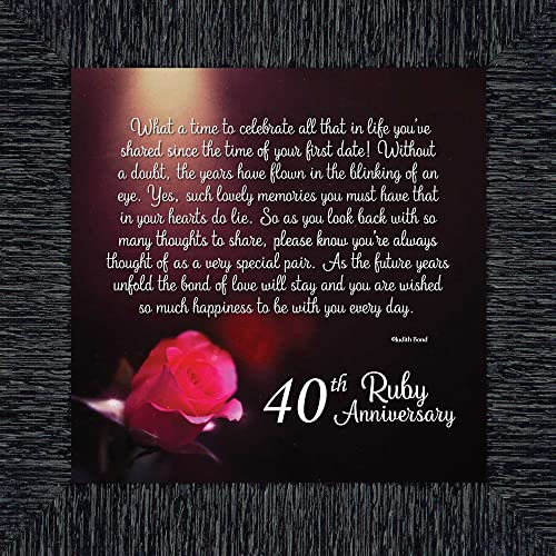 Ruby Wedding Gifts For Men: 40th Anniversary Gifts For Wife: Amazon.com