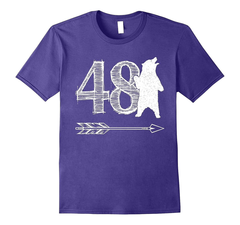 48 Year Old Bear 48th Birthday TShirt-Art