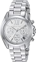 Michael Kors Watches Mini Bradshaw Chronograph Stainless Steel Watch