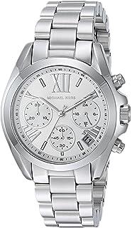 7773d4fc1882 Amazon.com  Michael Kors Women s Bradshaw Silver-Tone Watch MK6320 ...