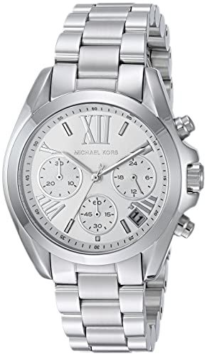 Michael Kors Reloj Cronógrafo para Mujer de Cuarzo con Correa en Acero Inoxidable MK6174: Michael Kors: Amazon.es: Relojes