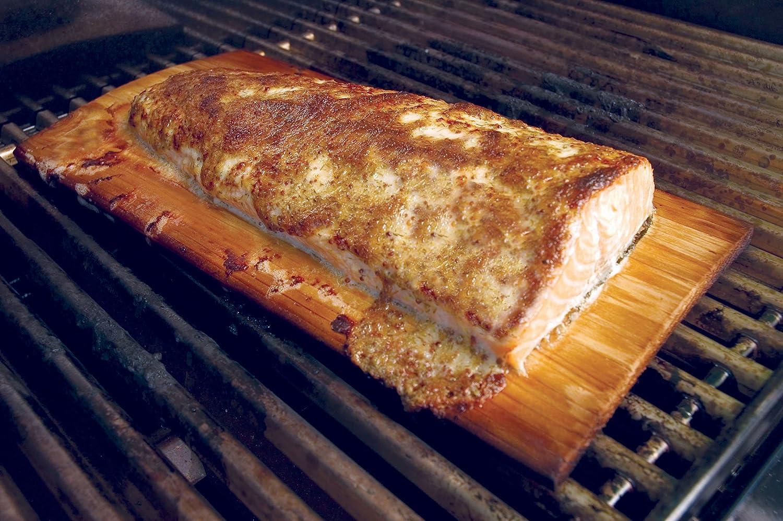 Single Charcoal Companion Wood Grilling Plank CC6045 Hickory