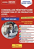 Concours Conseiller pénitentiaire d'insertion et de probation (CPIP) - Catégorie A - Tout-en-un - Annales 2019 incluses - Concours 2020-2021
