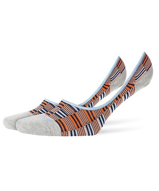 Burlington - Calcetines cortos - Rayas - Opaco - para hombre storm grey (3820) 43/46 : Amazon.es: Ropa y accesorios