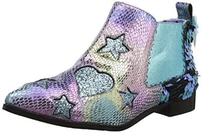 high fashion factory price classic style Irregular Choice Women's Starlight Empress Ankle Boots ...