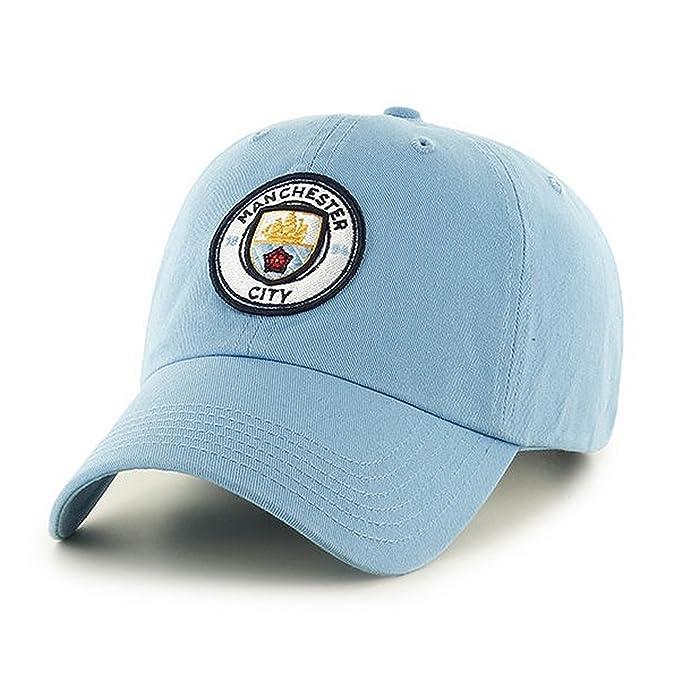 39b4afbb9 Manchester City FC Adults Official Football/Soccer Crest Baseball Cap