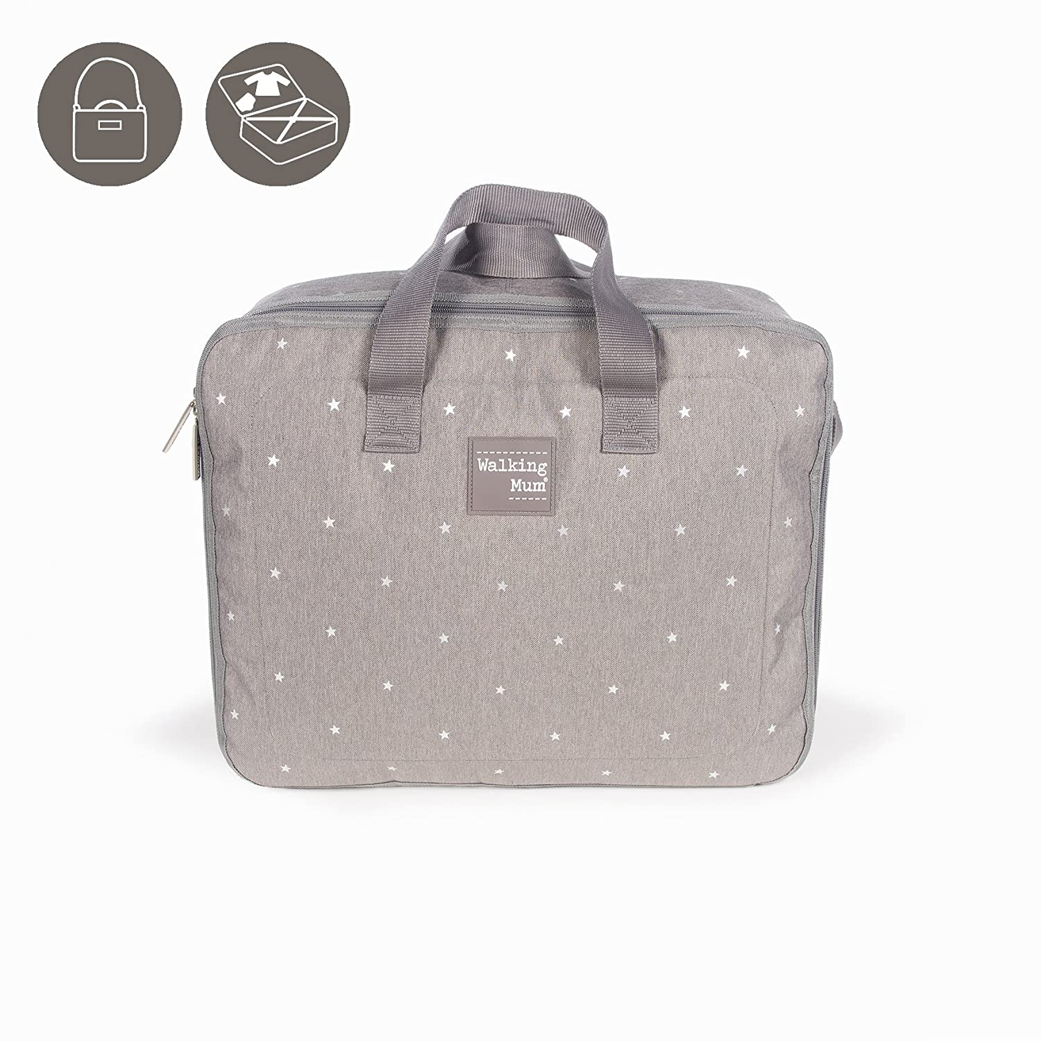 Walking Mum Valise Gris 35721