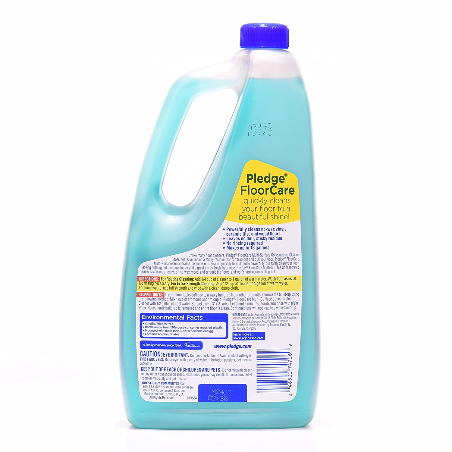Amazon.com: Pledge Floor Care Concentrate Multi Surfalce Cleaner Glade  Rainshower: Health & Personal Care - Amazon.com: Pledge Floor Care Concentrate Multi Surfalce Cleaner