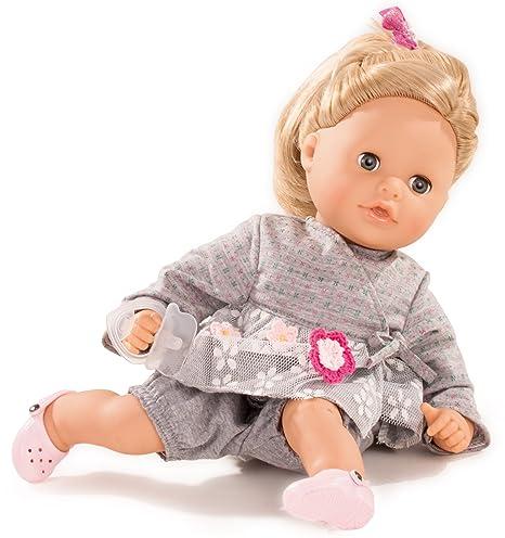 Götz 1616061 Cosy Aquini Netlace & Flowers Badepuppe - Puppe mit Blonde Haare, blauen Schlafaugen in Einem 7-teiligen Set - 3