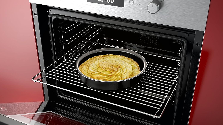 Backen 181001 Tous feux dont induction Set de po/êles et casseroles 10 Pi/èces Noir