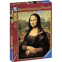 Ravensburger, Rompecabezas Leonardo da Vinci: Mona Lisa, 1000 Piezas