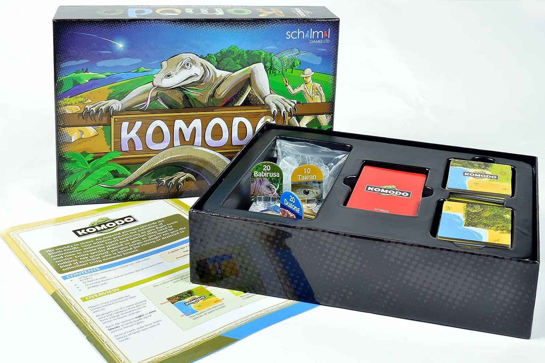 Komodo Board Game by SchilMil Games