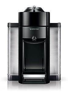 Nespresso Vertuo Evoluo Coffee and Espresso Machine by De'Longhi, Black
