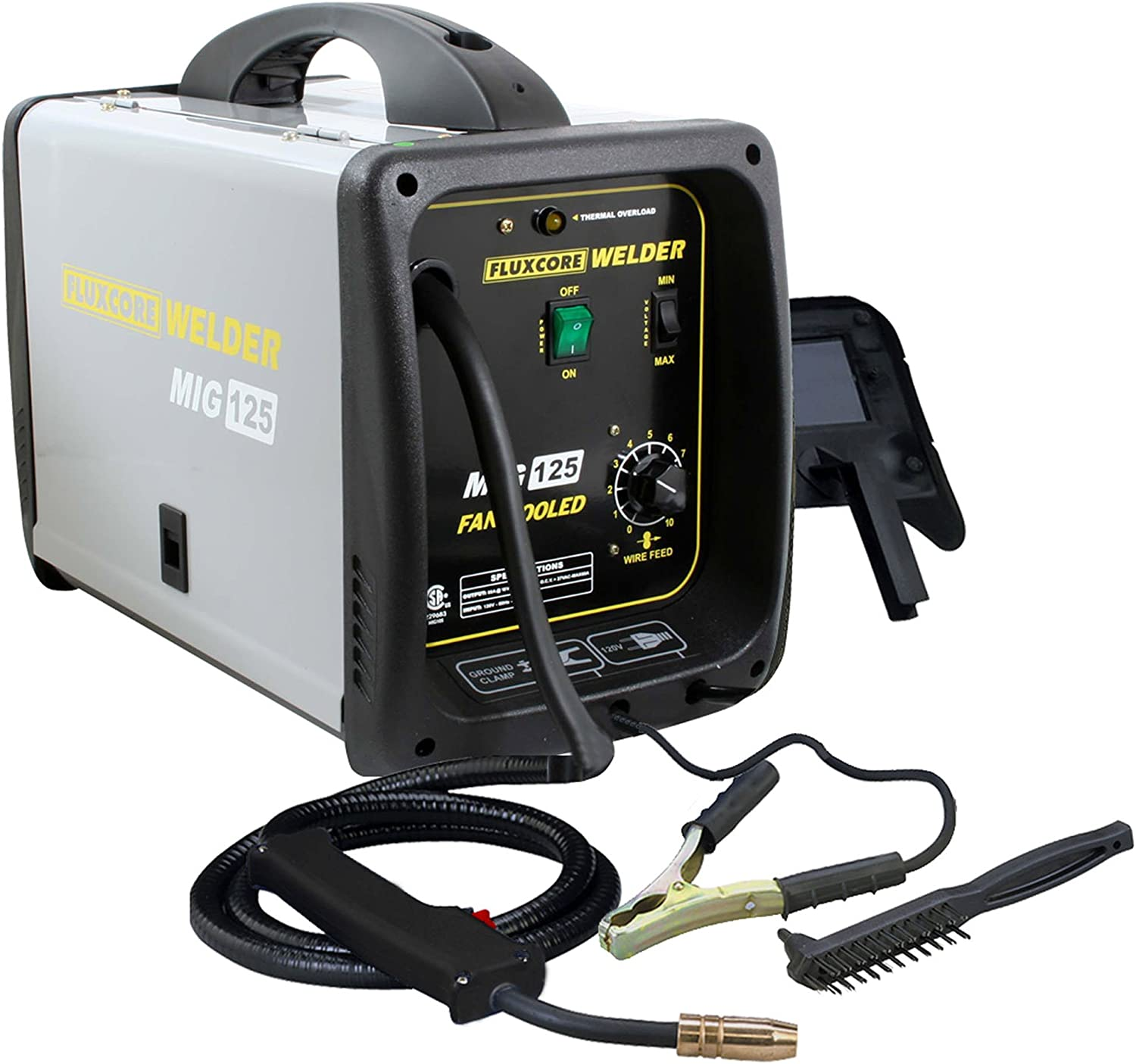 #8 Pro Series MIG Flux Core Welder