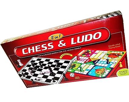 Buy NILSEA, CJE Chess & Ludo 2 in 1, Senior | Best Board