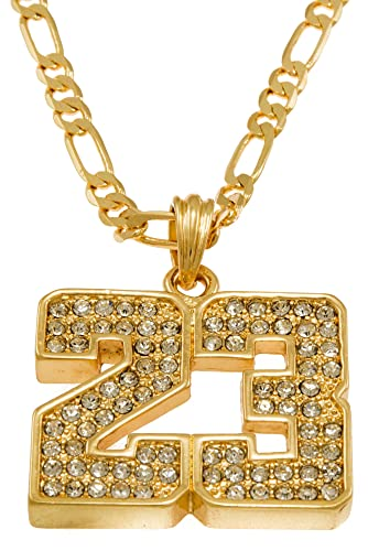 Amazon hot celebrity hip hop gold tone 23 jordan pendant hot celebrity hip hop gold tone 23 jordan pendant necklace free 24quot mozeypictures Gallery