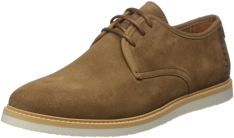 Schmoove Fly Suede, Zapatos de Cordones Derby para Hombre