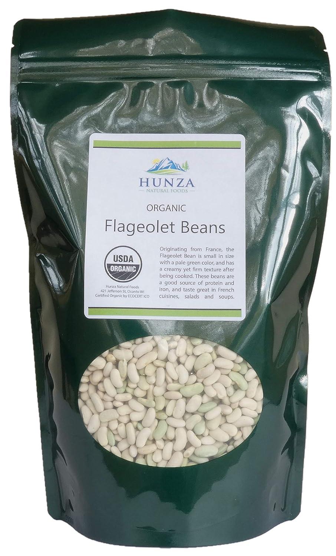 Hunza Organic Flageolet Beans (2-lbs)