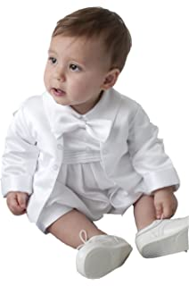 ff5657a98 ShineGown Christening Outfits for Baby Boys Baptism Gown White Ivory ...