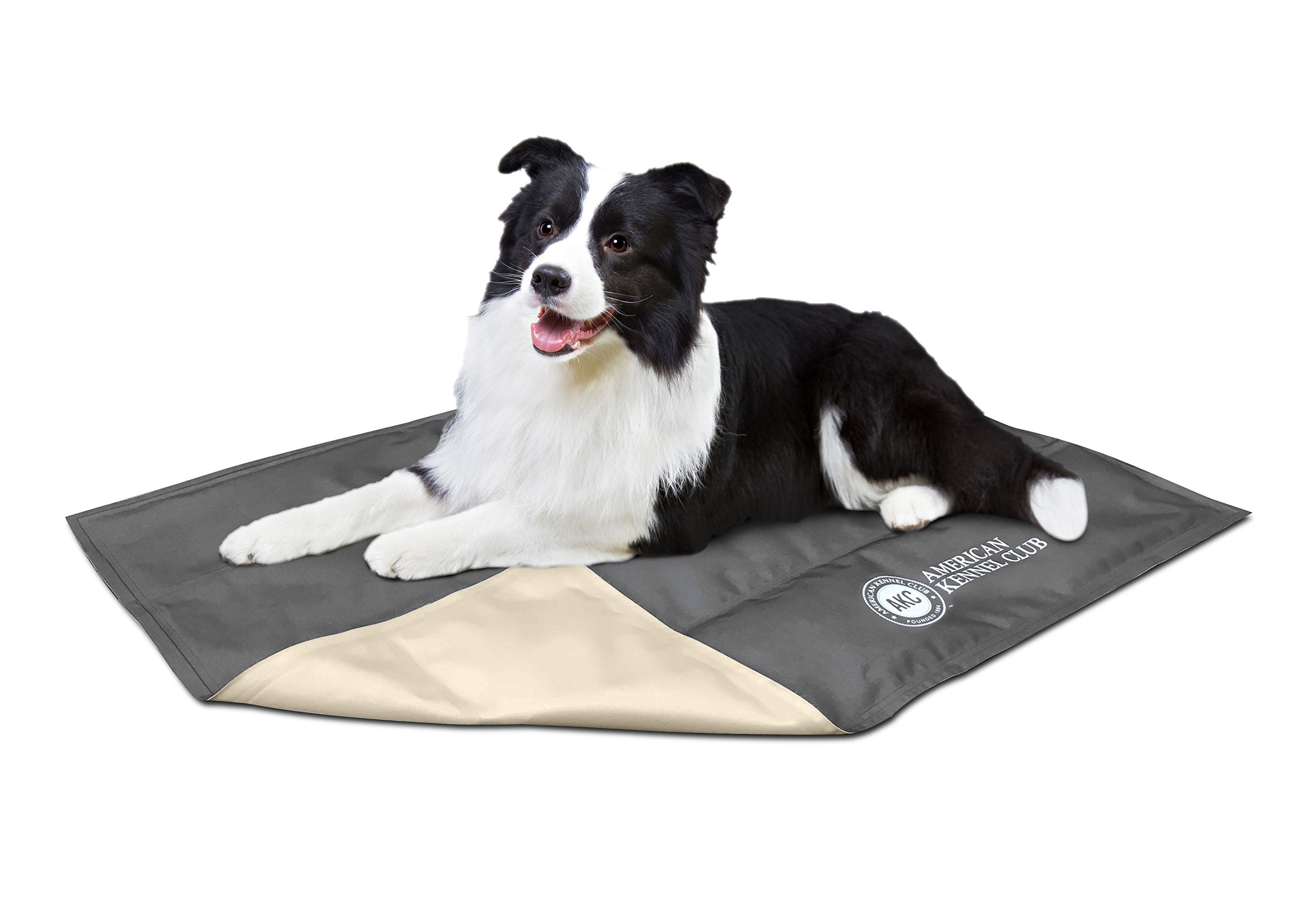 American Kennel Club AKC Cooling Mats for Dogs & Cats, No Electricity or Refrigeration Required, Non Toxic, Keep Pets Cool