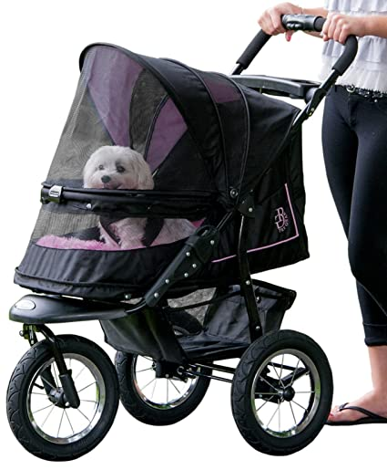 d5c5ca69e9d Amazon.com   Pet Gear No-Zip NV Pet Stroller for Cats Dogs ...