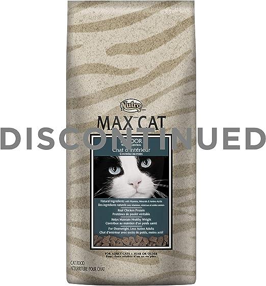 NUTRO MAX CAT Indoor Adult Dry Cat Food, Weight Management, 3 lbs ...