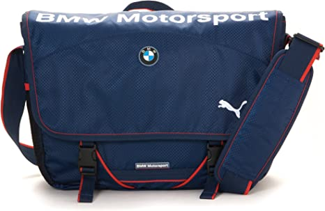 PUMA BMW Motorsport Messenger bag 070741-02: Amazon.co.uk ...