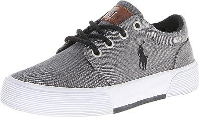 Polo Ralph Lauren, Grey, Talla 6.5 Big Kid: Amazon.es: Zapatos y ...