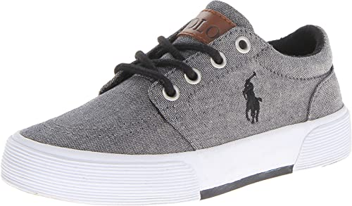 Polo Ralph Lauren, Grey, Talla 6.5 Big Kid: Amazon.es: Zapatos y ...