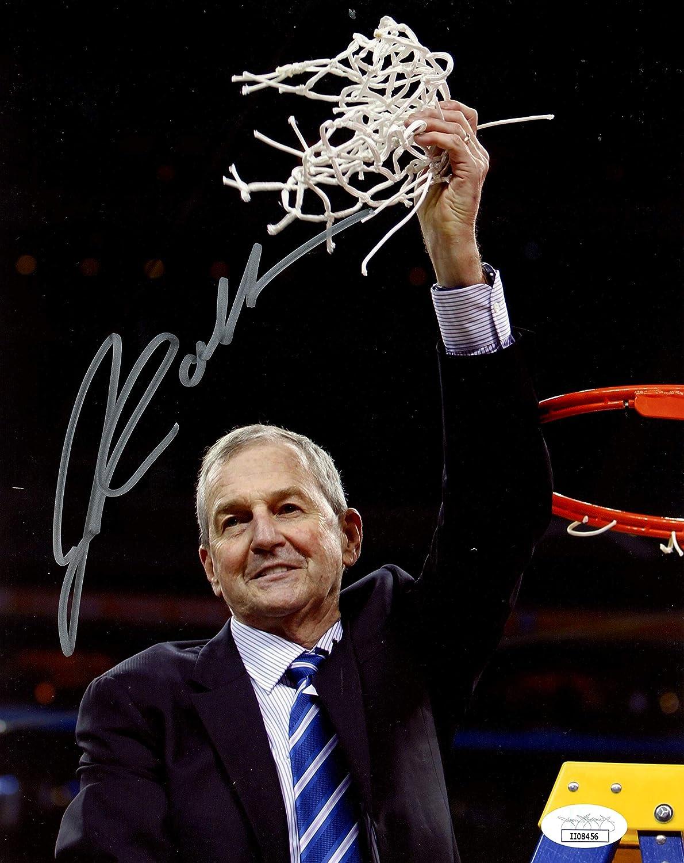 Jim Calhoun UCONN Signed//Autographed 8x10 Photo JSA 153848