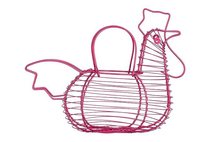 11 opinioni per Premier Housewares Portauova Forma di Galletto, Rosa