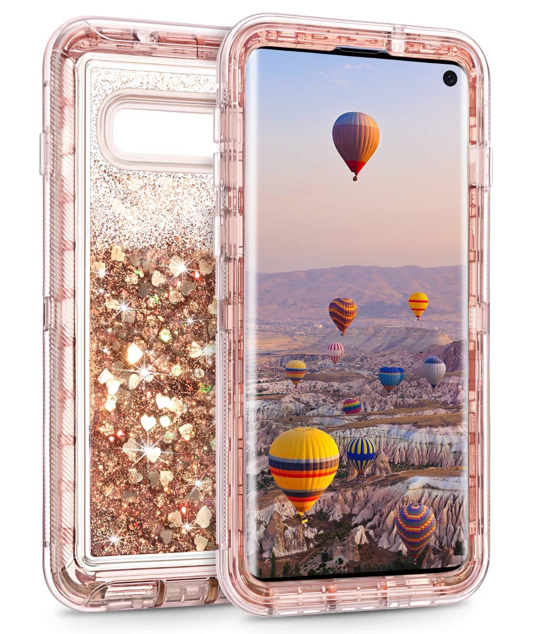 Funda Para Samsung S10 Glitter Coolden (7pgdl9j4)