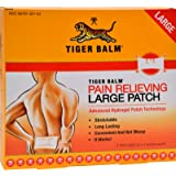 Tiger Balm Pain Relieving Patch Large 4 Each (Pack of 6)