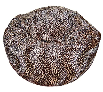 Ahh! Products Cheetah Animal Print Fur Washable Large Bean Bag Chair  sc 1 st  Amazon.com & Amazon.com: Ahh! Products Cheetah Animal Print Fur Washable Large ...