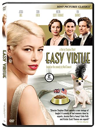 Amazon Easy Virtue Jessica Biel Colin Firth Kristin Scott