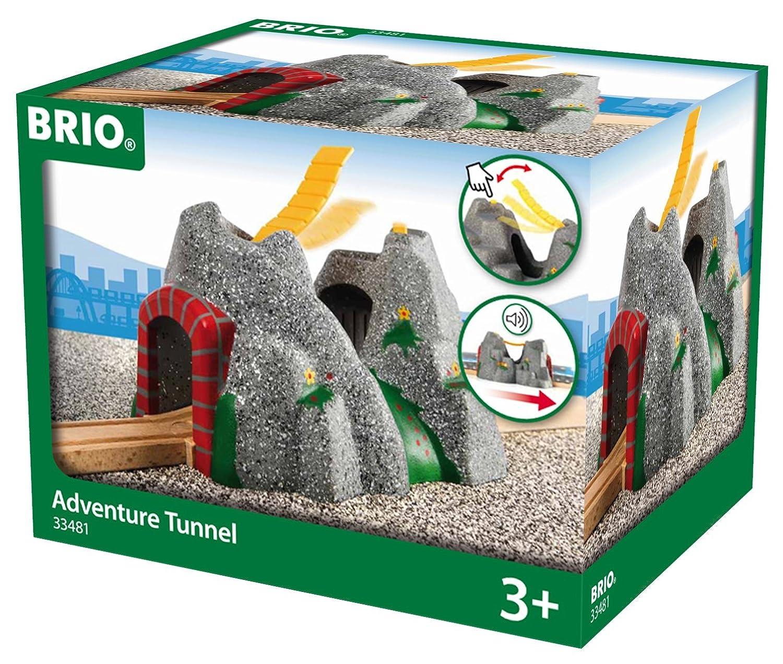 BRIO Bahn Großes Landschaftsset - Brio Magischer Tunnel - Brio Holzeisenbahn
