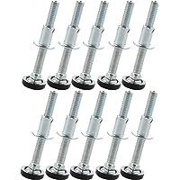 SECOTEC in hoogte verstelbare schroeven met inslagmoeren; regelschroeven; Inhoud: 10 stuks M8x30 / 10 Stuk