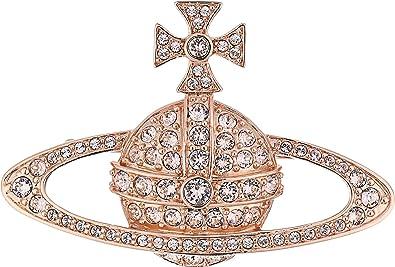 aec02c35b4 Amazon.com: Vivienne Westwood Women's Bas Relief Brooch Silk Crystals One  Size: Jewelry