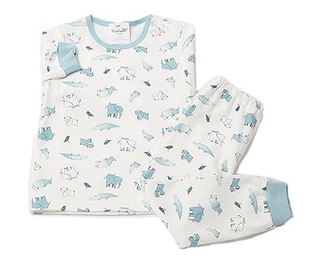 fab7d4f6b Amazon.com  2Ya2YaO Korean Cotton Paper Animals Baby Boy 2 Piece ...